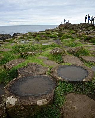 Photograph - Pools On The Giant's Causeway by Matt MacMillan
