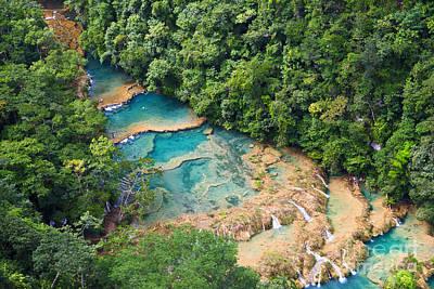 Natural Pool Photograph - Pools Panorama by Yuri Santin