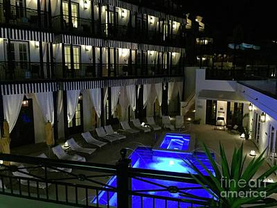 Tropical Wall Art - Photograph - Poolside At The Pearl by Megan Cohen