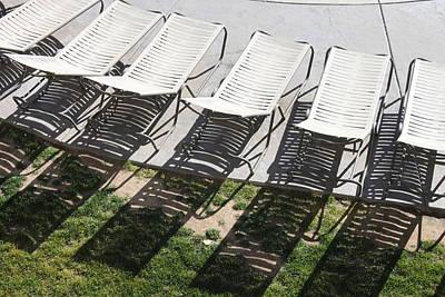 Poolside Print by Lauri Novak