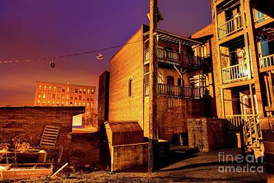 Ghetto Photograph - Poor American Inner-city Neighborhood by Denis Tangney Jr