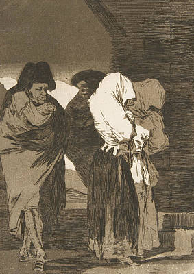 Relief - Poor Little Girls by Francisco Goya