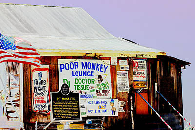 Poor Monkey's Juke Joint Art Print