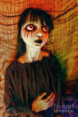 Photograph - Poor Red Eyed Child by Blake Richards