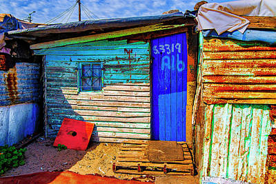 Photograph - Poorvillage Capetown by Rick Bragan