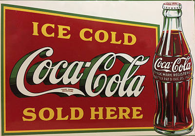 Photograph - Coca Cola Art Coke Signage Art by Reid Callaway