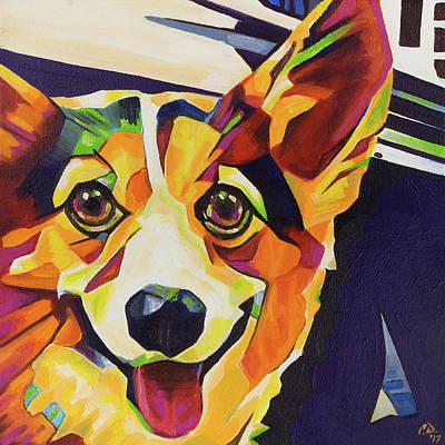 Painting - Pop Art Corgi by Cameron Dixon