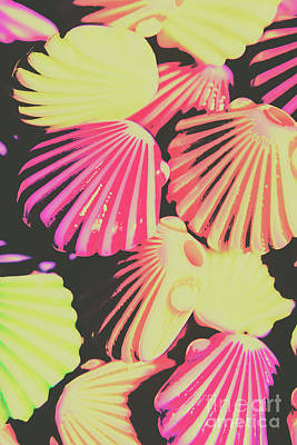 Pop Art Royalty-Free and Rights-Managed Images - Pop art from fluorescent beach by Jorgo Photography - Wall Art Gallery