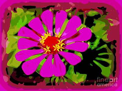 Digital Art - Pop Art Petals by Ed Weidman