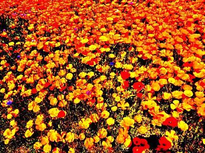 Pop-art Plants Art Print by Nik Watt