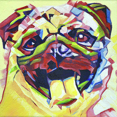 Pop Art Pug Original by Cameron Dixon