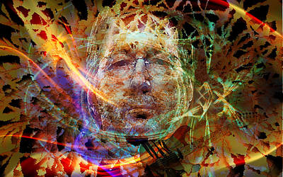 Slowhand Digital Art - Pop Art Slowhand by Andy Young