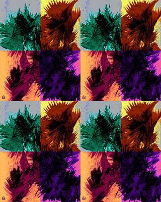 Digital Art - Pop Art Style 1210.092912abg by Kris Haas