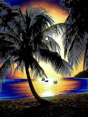 Digital Art - Pop Art Sunset by Maciek Froncisz