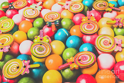 Lollipop Photograph - Pop Art Sweets by Jorgo Photography - Wall Art Gallery