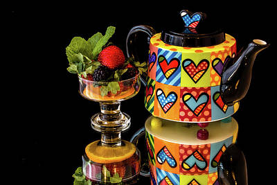 Photograph - Pop Art Teapot by Menachem Ganon