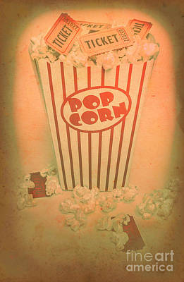 Pop Art Theatre Art Print