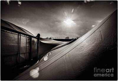 Photograph - Pop Brixton Has A New Roof by Lenny Carter