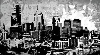 Ink Digital Art - Pop City 22 by Melissa Smith