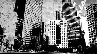 Splatter Digital Art - Pop City 27 by Melissa Smith