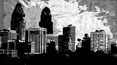 Bright Digital Art - Pop City 37 by Melissa Smith