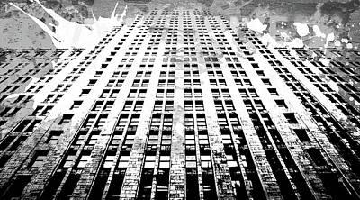 Splatter Digital Art - Pop City 39 by Melissa Smith