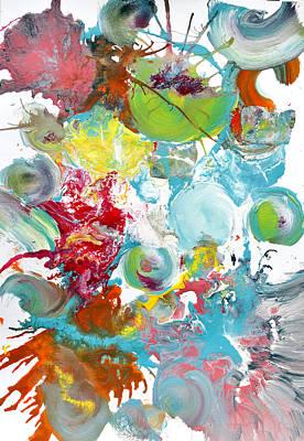Pop Fluid Series No. 3 Original by Sumit Mehndiratta