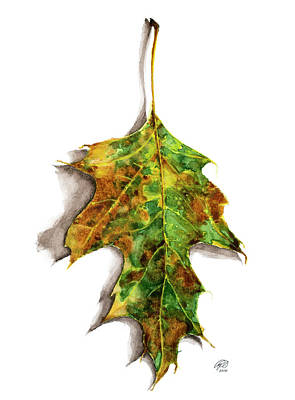 Painting - Pop Leaf Green by Ryan Irish