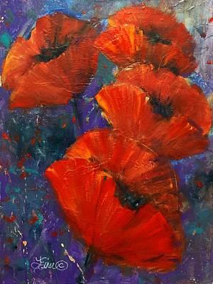 Painting - Pop Of Poppies by Terri Einer