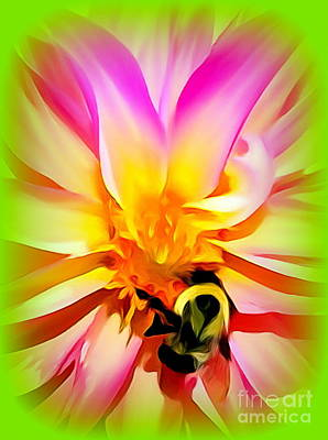 Photograph - Pop Pollination by Ed Weidman
