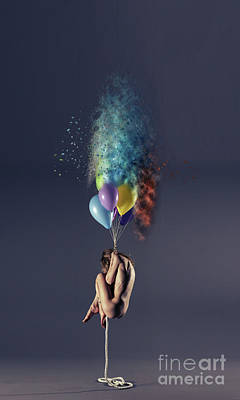 Balloons Photograph - Pop by Nichola Denny