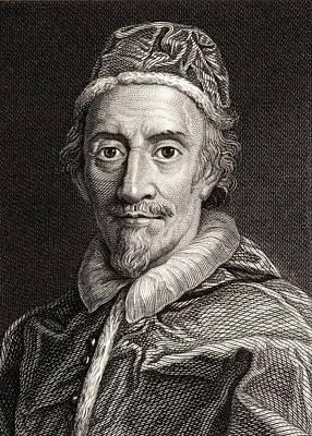 Pope Clemente Ix, 1600-1669 Pope Art Print