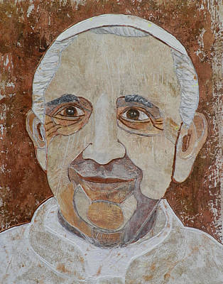 Carol Cole Painting - Pope Francis by Carol Cole