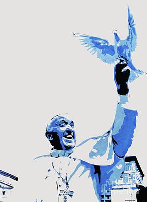 Pope Francis Art Print