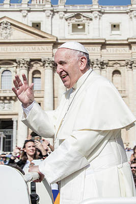 Photograph - Pope Francis Papal Visit  by John McGraw