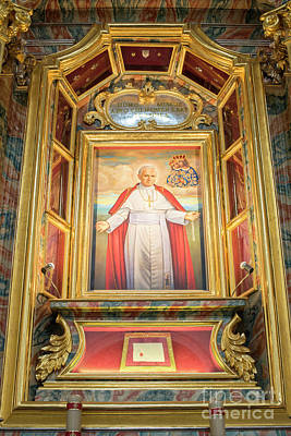 Photograph - Pope John Paul II by Juli Scalzi