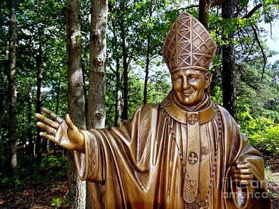 Photograph - Pope John Paul Ll by Ed Weidman