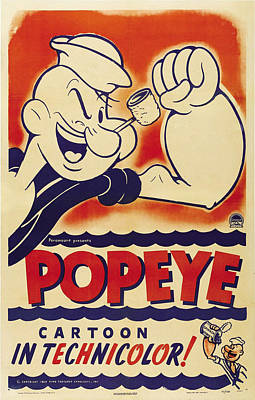 Popeye Technicolor Original by Tony Rubino