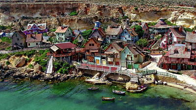 Photograph - Popeye Village by Anthony Dezenzio