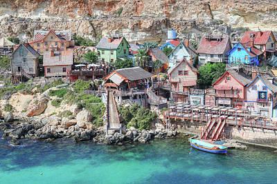 Disney Photograph - Popeye Village - Malta by Joana Kruse
