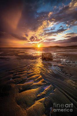 Photograph - Popham Beach Sunset by Benjamin Williamson