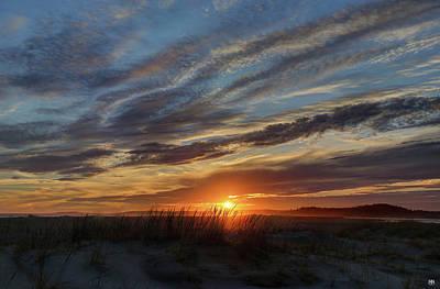 Photograph - Popham Sunset by John Meader