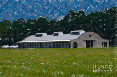 Photograph - Poplar Grove Equestrian Center In Ravenel Sc by Dale Powell