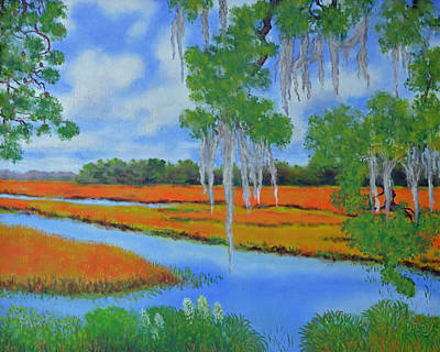 Painting - Poplar Grove Marsh by Dwain Ray