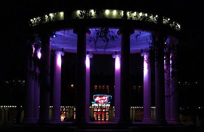 Popp Photograph - Popp Bandstand At Night by Deborah Lacoste