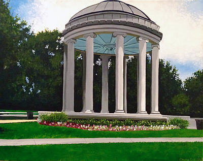 Bandstand Painting - Popp Bandstand by Drew Enderlin