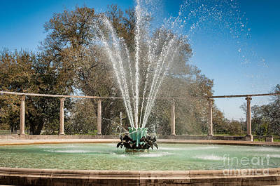 Popp Photograph - Popp Fountain-new Orleans-color by Kathleen K Parker