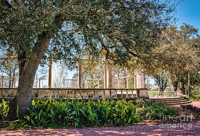 Popp Photograph - Popp Fountain-new Orleans by Kathleen K Parker