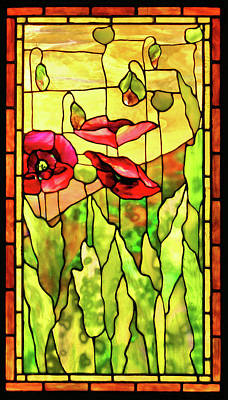 Poppies 2 Art Print by Kristin Elmquist
