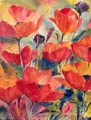 Painting - Poppies 9  by Eric Fetsch